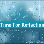 A Time For Personal Reflection