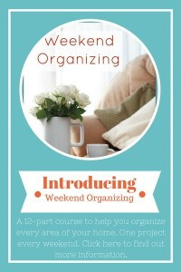New Organizing Course